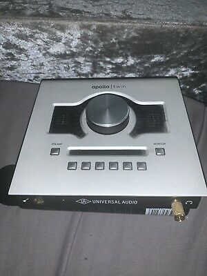 Apollo Twin DUO Universal Audio Thunderbolt Audio Interface with NO plugins
