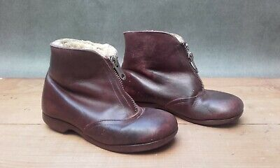 Vintage child's leather boots (1950s)