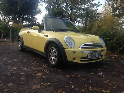 Mini 1.6 Cooper Convertible 2006MY Yellow Lady Owner Nice Looking Car Hpi Clear