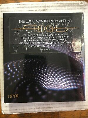 TOOL FEAR INOCULUM CD Trifold Limited Edition HD Screen Deluxe 2019 IN HAND NEW