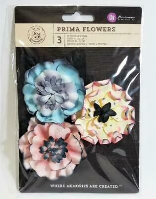 IVORY SPRITES 2 COLLECTION PRIMA Flowers Scrapbooking Card Making Stamping