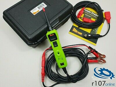 Power Probe 3 Auto Electrical Circuit Tester. 20ft Extension etc PPR319FTC Green