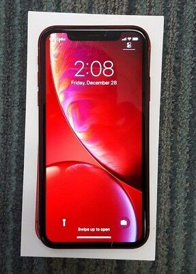 Apple iPhone XR (PRODUCT) RED - 64GB - (Unlocked) A1984 (CDMA + GSM) Read
