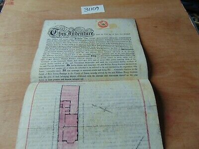 1878 Indenture Rh Baron Braybrooke Cornwallis Gardens Hastings Signed & Sealed