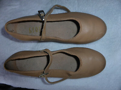Bloch tan tap shoes size 4