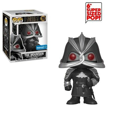FUNKO POP! Game of Thrones The Mountain 6 inch Walmart Exclusive Armored