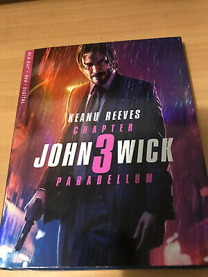 John Wick Chapter 3 Parabellum Blu-ray dvd Digital Brand New Factory Sealed
