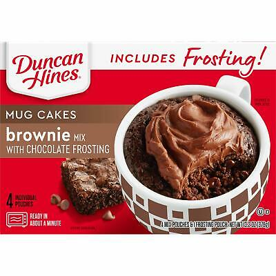 Duncan Hines Mug Cake with Frosting, Brownie