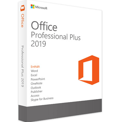 Microsoft Office 2019 Pro Plus Lifetime License Genuine Key For 1PC 32/64