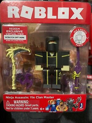 Roblox Figure 2 Pack Mad Games Adam And Ninja Assassin Yin Clan - mad assassin roblox