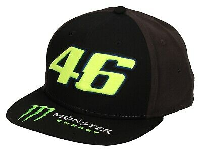 VR46 Valentino Rossi the Doctor #46 Monster Energy Base Cap Peaked Cap