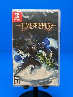 Timespinner (Nintendo Switch) Physical Limited Run Variant Cover