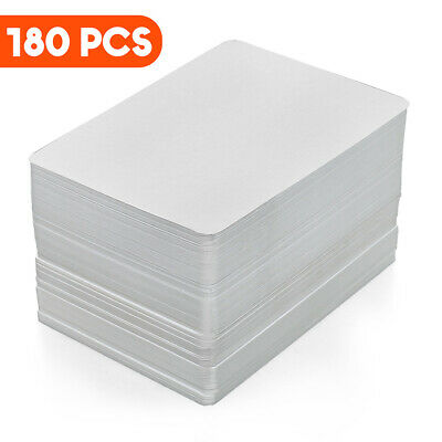 180pc Christmas Thanks Gift Card DIY Scrapbooking Card Craft Blank Playing Cards