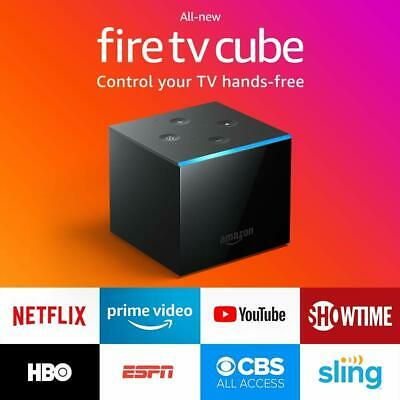 All-new Fire TV Cube 2nd Generation Alexa 4K Ultra HD Streaming Player 2019