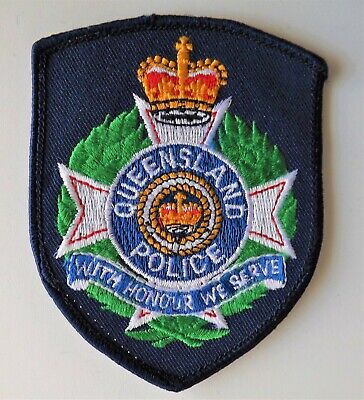 Queensland Police Patch  Vintage 1980