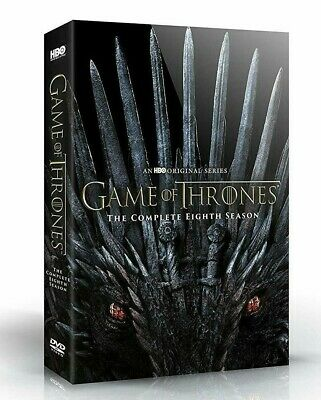Game Of Thrones: SEASON 8 DVD BOX SET 2019 NEW FREE SHIPPING preorder