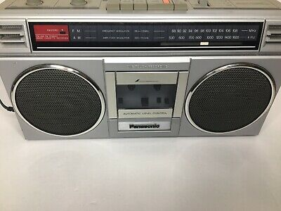 Vintage~1981~PANASONIC~RX-4920~Cassette Player~AM/FM Radio~Boombox~TESTED