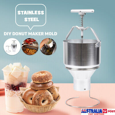Donut Maker Depositor Manual Dropper Dough Batter Dispenser Commercial Hopper