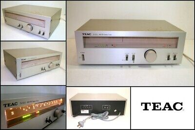 Vintage TEAC TX-550 FM AM Stereo Analogue Tuner (1981) High End JAPAN