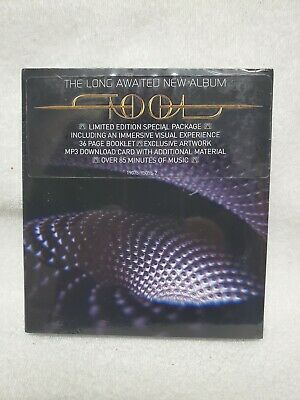 "Tool Fear Inoculum CD Deluxe Edition Limited Tri Fold + 4"" HD Screen RARE HTF"