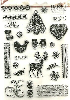 Christmas Signature Collection  Stamps   By Sara Davies