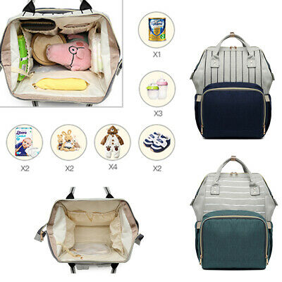 Multi-Functional School Backpack Mummy Baby Diaper Nappy Changing Shoulder Bag