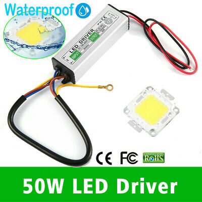 50W LED SMD Chip Bulbs With High Power Driver Supply Switch For LED Strip Lights