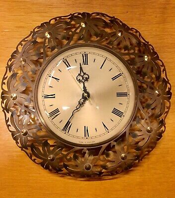 Rare Vintage Mid Century 1960s/70s Metamec Battery Wall Clock