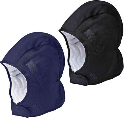 Portwest PA58 Winter Helmet Liner Cold Protection 100% Cotton Thermal Insulation