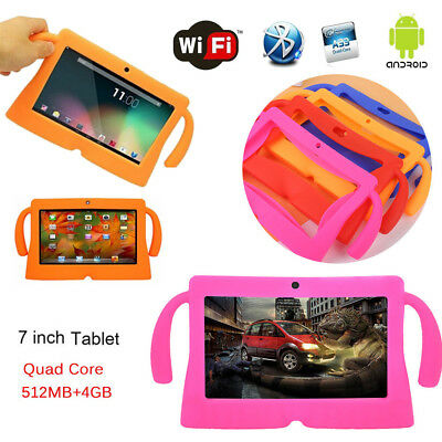 7'' inch Google Android WiFi Tablet PC Quad Core 8GB Dual Camera Kids Child XMAS