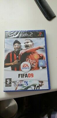 Playstation Fifa 09 Factory Sealed .Unopened very rare