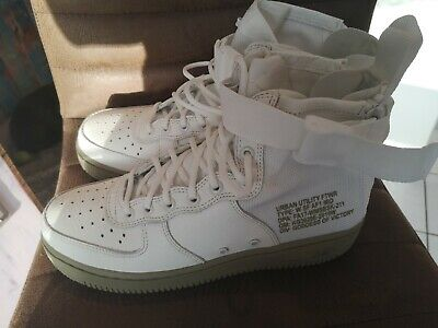NIKE AIR FORCE 1 Damen hoch weiß neu Gr 39 EUR 45,50