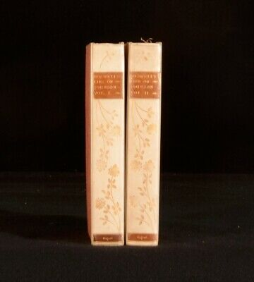 1904 2vols Boswell's Life of Johnson Oxford Edition