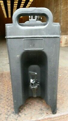 Carlisle Cateraide Insulated Beverage Server 2.5 Gallon Black LD250 NLD250