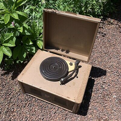 Rare Vintage Record Player Radio 'Australian Sound' Garrard Turntable PA System