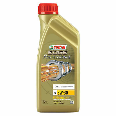 Castrol EDGE Professional A5 5W-30 5W30 (Jaguar) Engine Oil - 1 Litre 1L