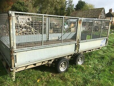 Ifor Williams 14Ft Trailer Caged With Ramps