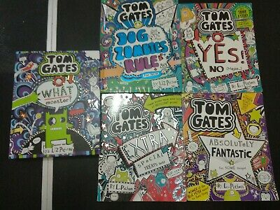 Tom gates 5 book collection