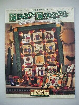 Country Calendar - Debbie Mumm - Quilting Pattern Book