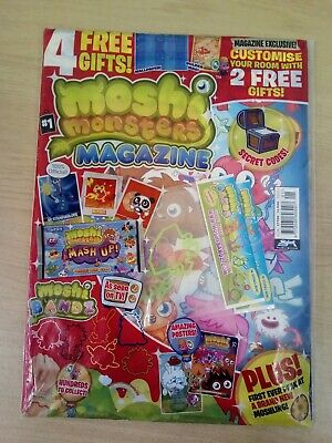Moshi Monsters Magazine #1 Published 2011  Collectible