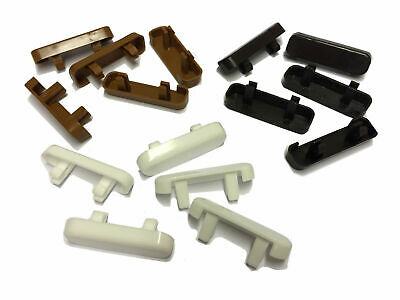 uPVC Window Drain Caps / Face Drain Covers / 1st Class Postage - Pack of 10