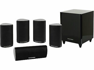Harman Kardon HKTS 9BQ 5.1-channel Home Theater Speaker System - NEW