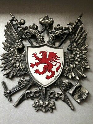 coats of arms metal shield wall plague with shield