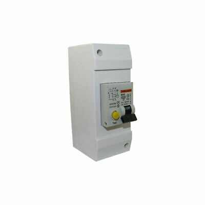40 Amp Combined RCD / MCB Circuit Breaker