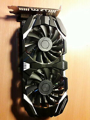 MSI GeForce GTX 1060 6GT OCV1 6GB DDR5