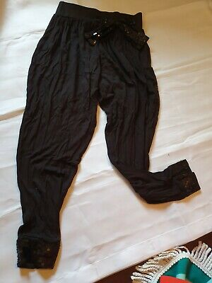 Girls Trousers Age 9-10 Years
