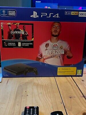 Sony PS4 500GB Console & FIFA 20 Bundle THIS IS BRAND NEW SEALED CONSOLE & GAME