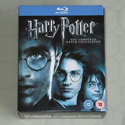 Harry Potter – The Complete 8 Film Collection On Blu-Ray Disc (P12)