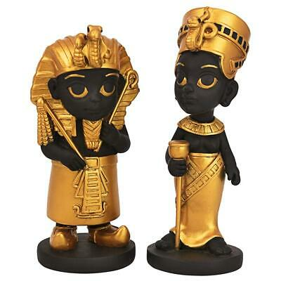 Design Toscano Wee Rulers of the Egyptian Realm Statue Set of Two