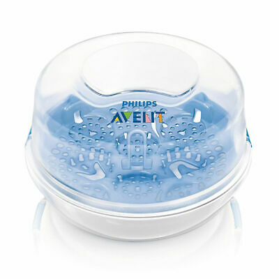 Microwave Steam Steriliser - protect your baby from harmful milk bacteria